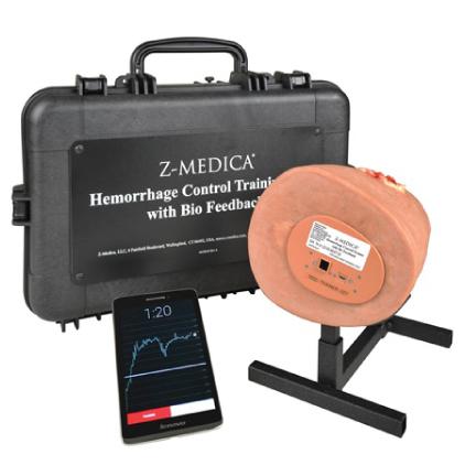 Z Medica 174 Hemorrhage Control Training Kit With Biofeedback