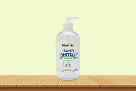 Novtic Hand Sanitizer 450ml Medica Syifa Technology Sdn
