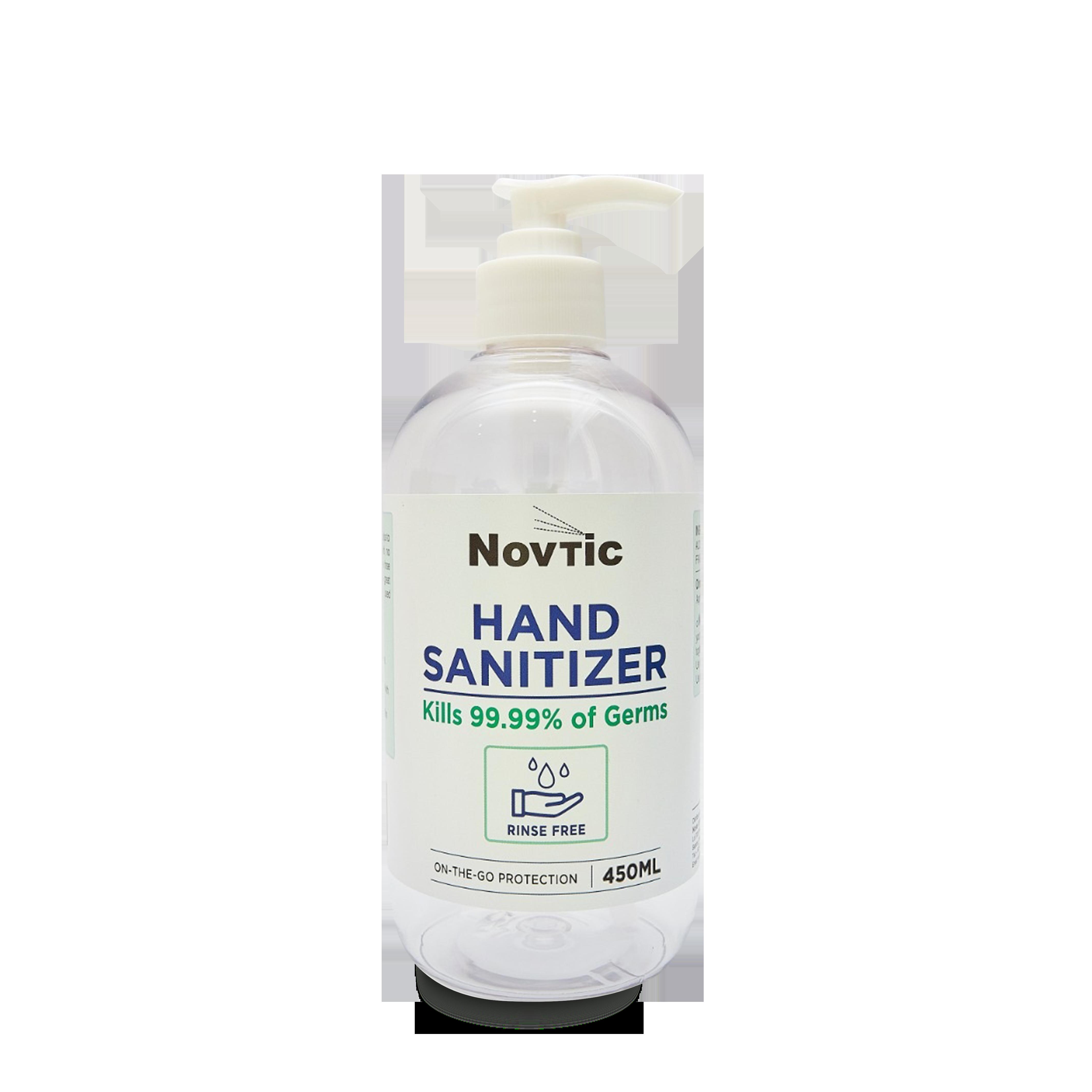 Novtic Hand Sanitizer 450ml Medica Syifa Technology Sdn